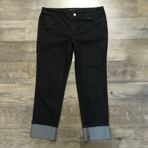 Lafayette 148 New York Jeans Thompson Crop Sz 10